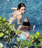 Courteney Cox Has One Last Bikini Day in Hawaii With Coco and Brian