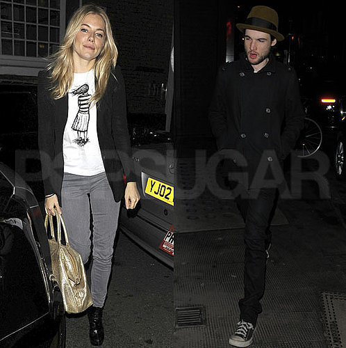 Pictures of Sienna Miller and Tom Sturridge Out in London