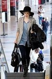 Rachel McAdams Rolls Up Her Sleeves and Gets Ready to Jet