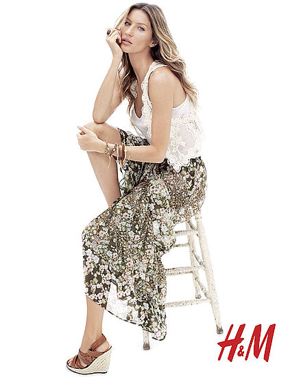 Gisele Gets Soft and '70s-Inspired For H&M's Spring Campaign