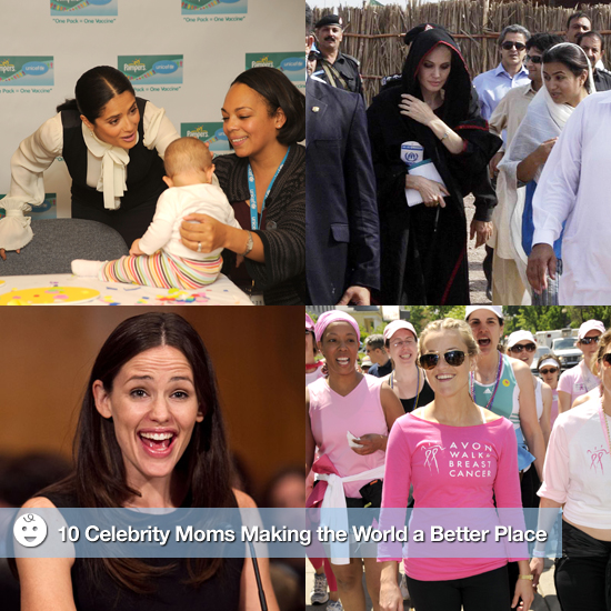 10 Celebrity Moms Making the World a Better Place