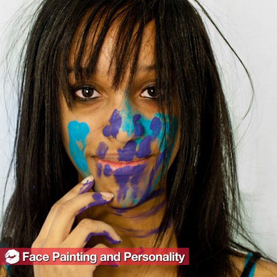 Do Painted Faces Reveal Hints About Personality?