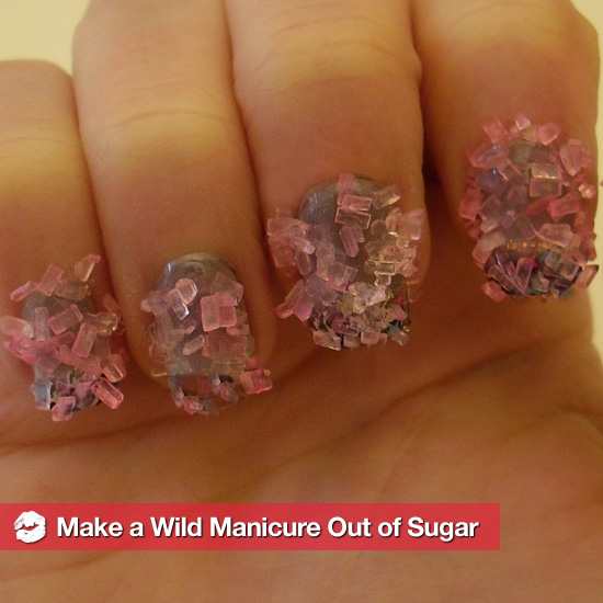 How to Make a Wild, Sugar-Coated Manicure