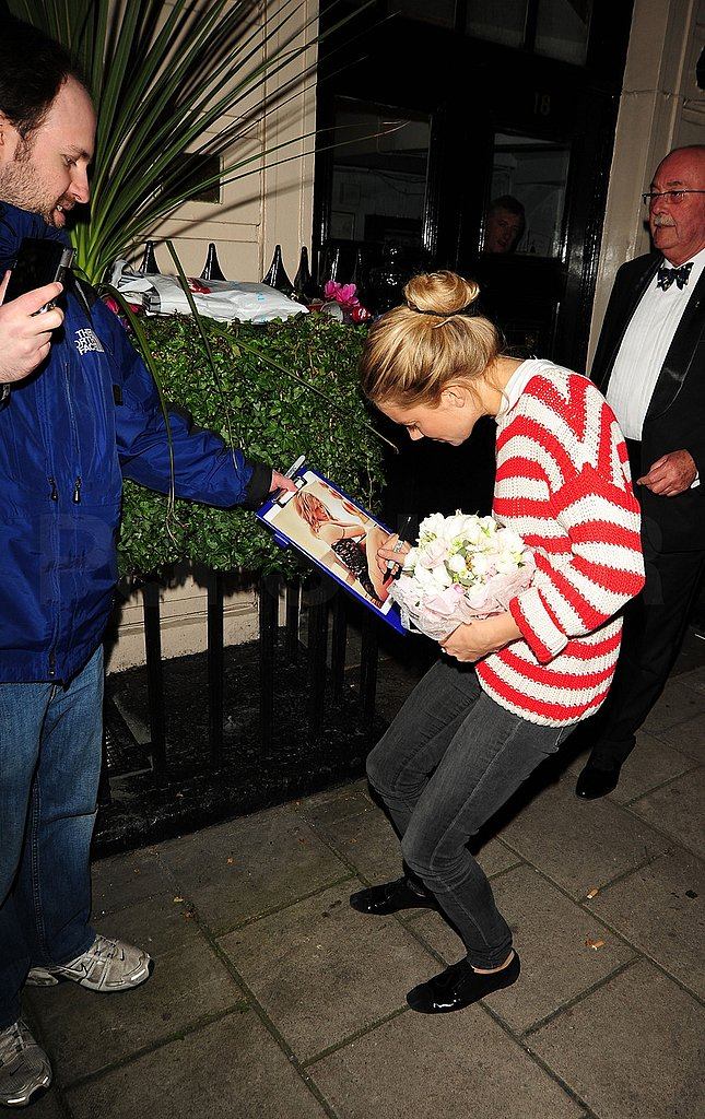 Sienna Miller Keeps Playing Around in London