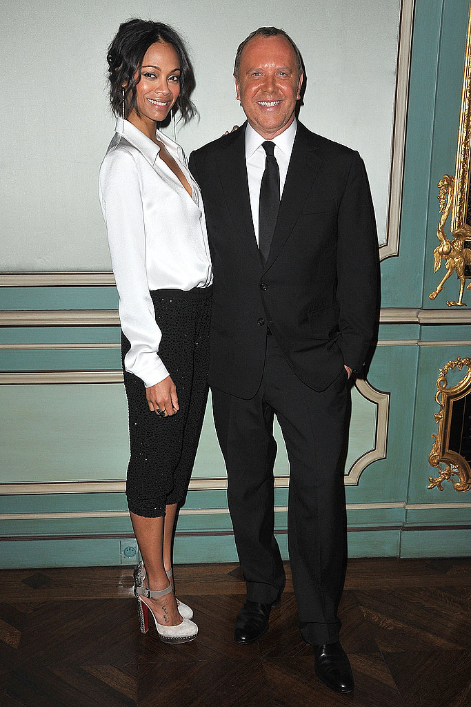 Jennifer, Zoe, Mary J., and More Toast Michael Kors at His Paris Party