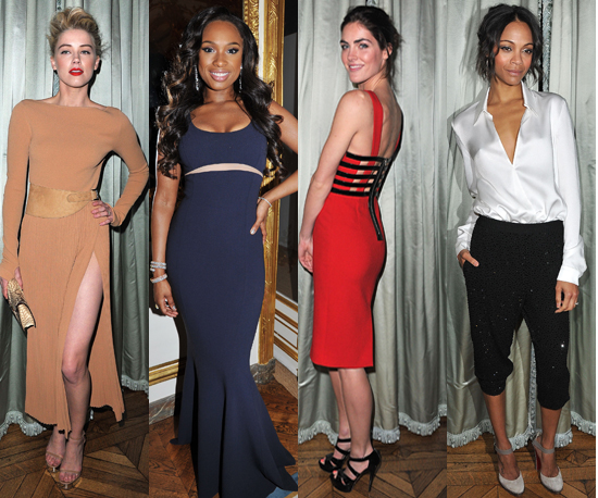 A Bevy of Beauties at the Michael Kors Party in Paris — Who Looks Best?