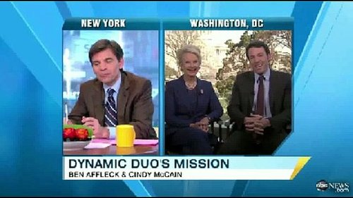 Video: Ben Affleck and Cindy McCain Talk About the Eastern Congo Initiative on Good Morning America
