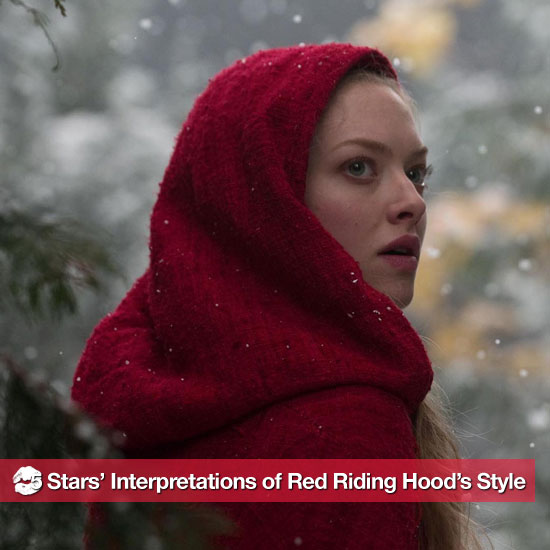 5 Stars Do Their Best Red Riding Hood Impersonations