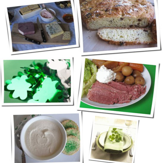 St. Patrick's Day Party Menu and Recipes