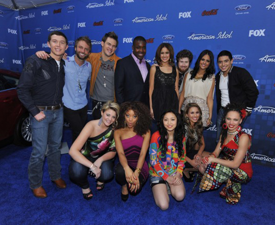 American Idol's Top 13 Get the Competition Fired Up!