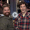 Zach Galifianakis SNL Promos With Andy Samberg