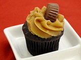 Peanut Butter Mini Cupcake