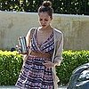 Pictures of Pregnant Jessica Alba Leaving a Meeting in LA