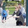Pictures of Amy Adams at a Park in LA With Her Daughter Aviana Olea Le Gallo