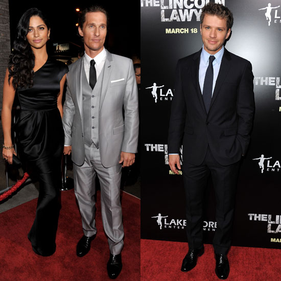 MM and Ryan Heat Up the Lincoln Lawyer Premiere With the Help of Camila