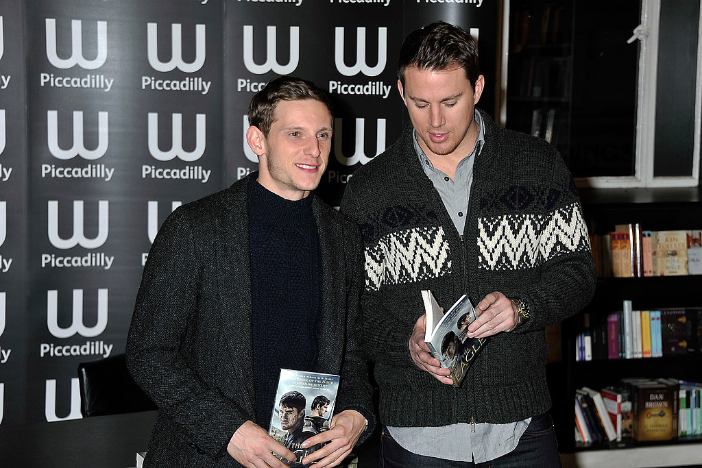 Channing Tatum Books It to a London Signing