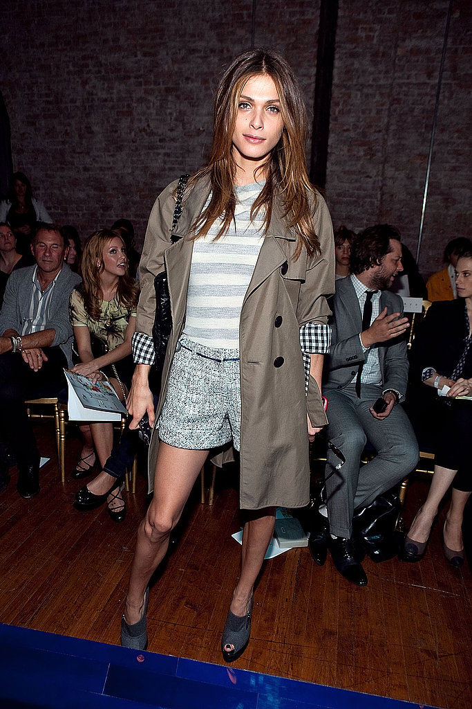 Elisa showed off casual-chic the way we crave it for Spring in Jason Wu's front row at NYFW last September.