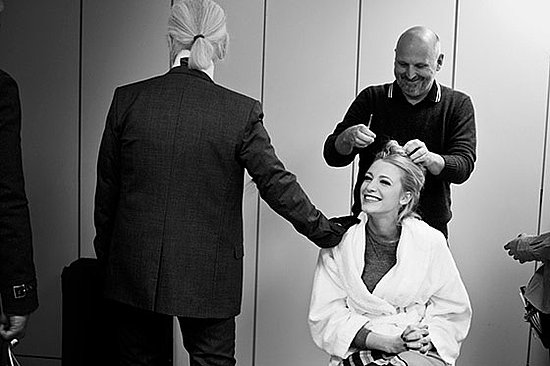 Behind the Scenes Photos of Blake Lively and Karl Lagerfeld at Chanel 2011-03-10 01:02:08