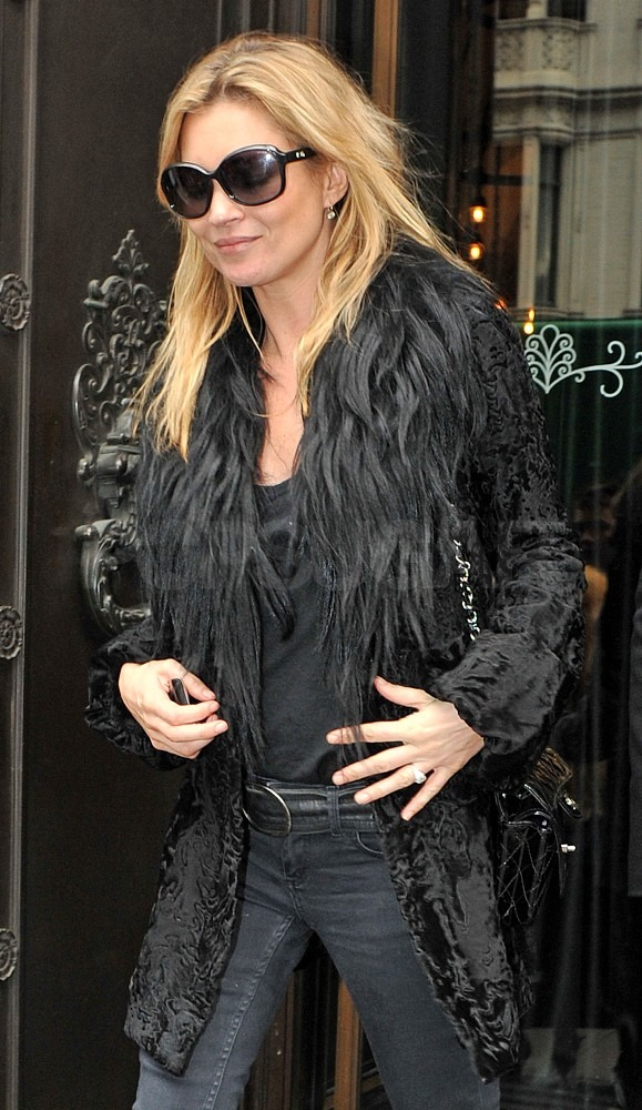 Kate Moss May Be Trying to Extinguish Her Cigarettes For Good