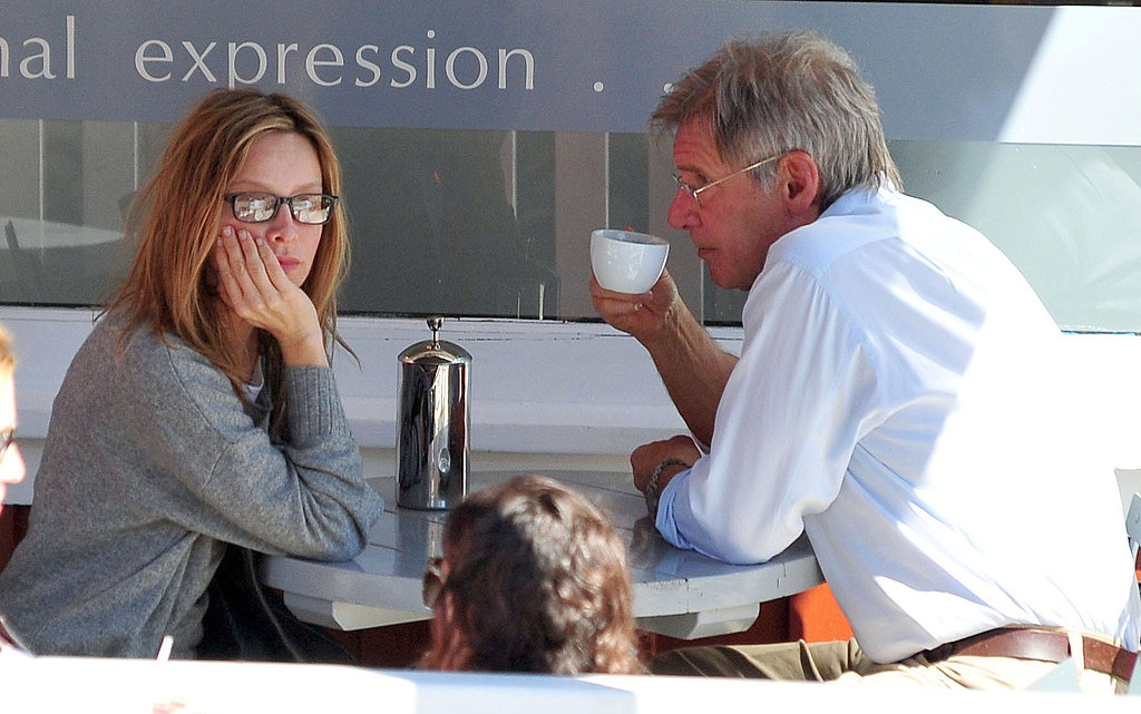 Calista and Harrison Share a Coffee Date and a Kiss