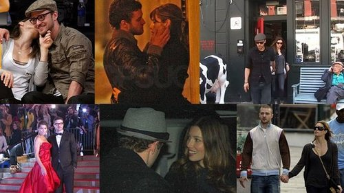 Video of Justin Timberlake and Jessica Biel's Cute Moments Before They Broke Up