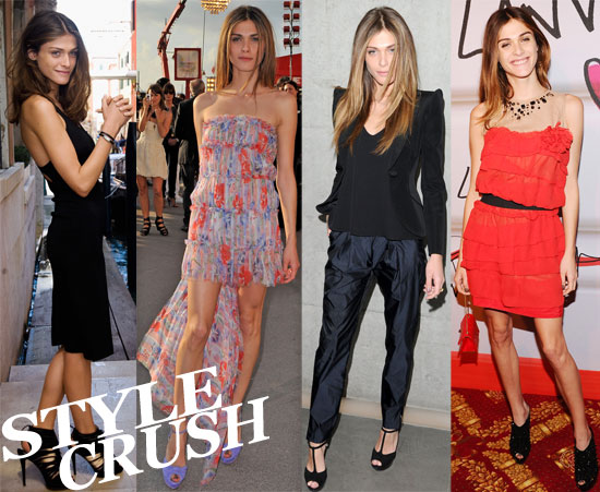 Pictures of Elisa Sednaoui Style