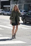 Diane Kruger Takes Her Signature Style on Stroll Through LA