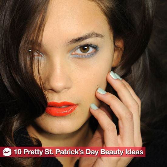 Pretty Saint Patrick&#039;s Day Hair and Makeup Ideas 2011-03-15 06:00:00