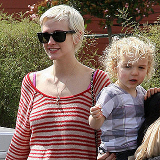 Pictures of Ashlee Simpson With Son Bronx in LA