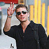 Pictures of Ryan Phillippe Heading Into the Jimmy Kimmel Live Show