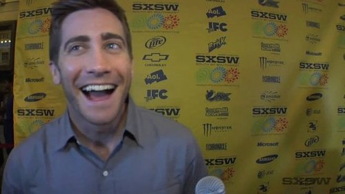 Video: Jake Gyllenhaal's Source Code and Bathroom Run-In at 2010 SXSW