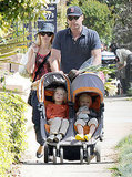 Naomi Watts Slides Into a Sunny Weekend With Her Boys