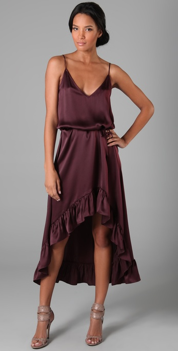 A seriously sexy dress your bridesmaids will thank you for. Thayer Wild One Maxi Dress ($385)
