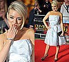 Sheridan Smith on the Red Carpet at 2011 Olivier Awards