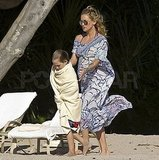 Kate Hudson and Matt Bellamy in Mexico