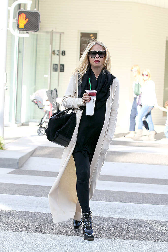 Pregnant Rachel Zoe Is Still on the Go