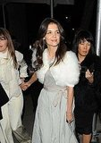 Katie Holmes Keeps the Stylish Looks Coming During a NYC Night Out
