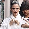 Pictures of Rachel Bilson Shooting a Commercial With Karl Lagerfeld in Paris 2011-03-16 02:04:00