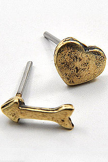 Emma Stine Heart and Arrow Studs Are a $22 Unguilty Pleasure