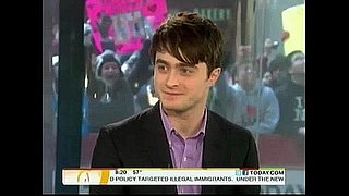 Daniel Radcliffe Prefers Singing and Dancing to Being Nude on Stage