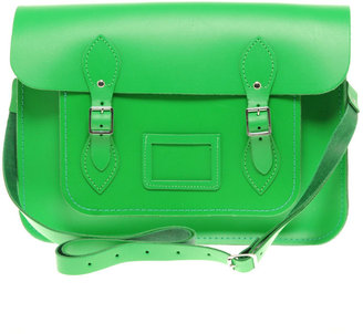 This Cambridge Satchel Company Satchel ($179) has a classic shape and modern color. We love it.