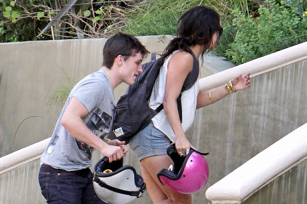 Vanessa Hudgens Recovers From Her Latest Photo Scandal on a Ride With Josh Hutcherson