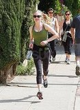 Amanda Seyfried and Ryan Phillippe Break a Sweat on a Couple's Jog