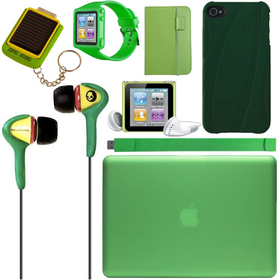 Green Gadget Accessories For St. Patrick&#039;s Day