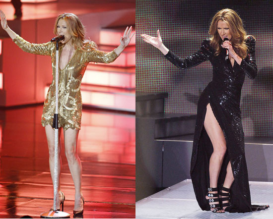 Now <i>That's</i> a Star: Celine Dion Wears Five Sexy Dresses For Live Performance