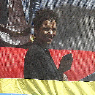 Pictures of Halle Berry Celebrating Nahla Aubry's Birthday With a Bounce House by the Beach in LA