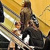 Pictures of Katie Holmes and Suri Cruise Leaving NYC
