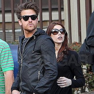 Pictures of Ashley Greene and Jared Followill Together in NYC on St. Patrick's Day