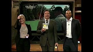 Amy Poehler, Tiger Woods, and Jimmy Fallon Play PGA Tour '12