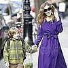Pictures of Sarah Jessica Parker Walking James Wilkie Broderick to School in NYC